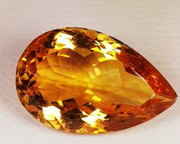 8.32 ct Top Quality Gem Golden Whisky Color Natural Citrine
