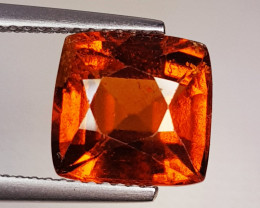 4.75 ct Top Quality Gem Octagon Cut Top Luster Hessonite Garnet