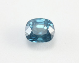 4.95ct Lab Certified Blue Zircon
