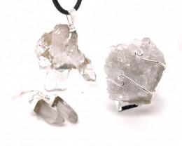 Crystal Raw Set - High Grade Druzy - BR 1267
