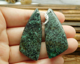 African turquoise natural earring gemstone bead (G1577)