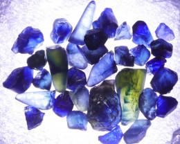 32.25 CTS AUSTRALIAN ROUGH BLUE  SAPPHIRE [S-SAFE191 ]