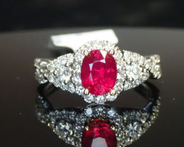 1.14ct Ruby Ring - Burma