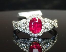 1.14ct Ruby Ring - Burma