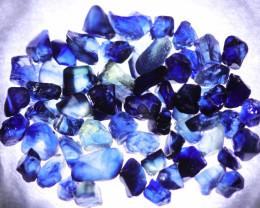52.00 CTS AUSTRALIAN ROUGH BLUE  SAPPHIRE [S-SAFE 195 ]