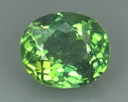 3.60 CTS INVESTMENT GEM - VIP APATITE - NICE GREEN EXCLUSIVE BRAZIL