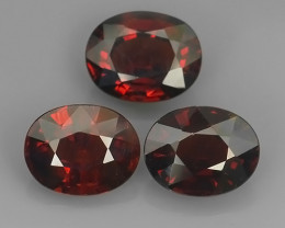 7.80 CTS OUTSTANDING! OVAL  RED NATURAL SPESSARTITE GARNET NR!