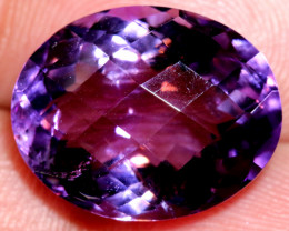 12.65- CTS AMETHYST FACETED STONE CG-2445