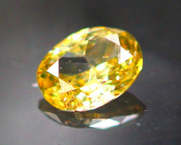 Diamond 0.08Ct Natural Fancy Champagne Color Diamond 25CF19