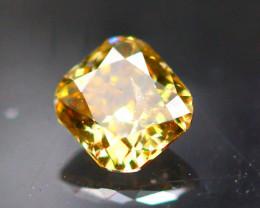 Diamond 0.12Ct Natural Fancy Cognac Color Diamond 25CF21