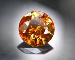 Diamond 0.30Ct Natural Brilliant Round Cut Fancy Color Diamond 25CF88