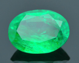 Vivid Color 2.95 ct Zambian Emerald SKU-31