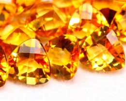 Citrine 22.36Ct Natural VVS Golden Yellow Color Citrine Lot E2809