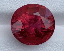 7.58 Carats Natural Color Rubellite  Tourmaline Gemstone
