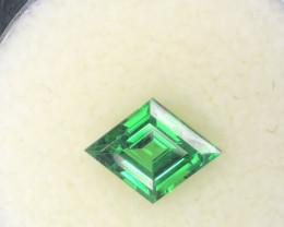 1.44ct Diamond Shape Tsavorite Garnet