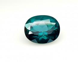 4.55 Crt Green Topaz Coated  Natural Gemstones JI50