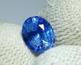 NO HEAT 1.18 CTS CERTIFIED NATURAL STUNNING CORNFLOWER BLUE SAPPHIRE SRI LA