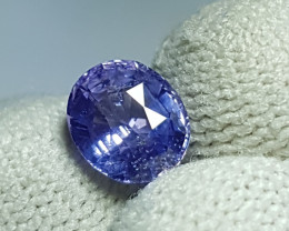 NO HEAT 1.76 CTS CERTIFIED NATURAL STUNNING VIOLET BLUE SAPPHIRE SRI LANKA