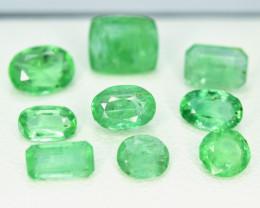 4.45  Carats Lot Of Panjshir Emerald Gemstone