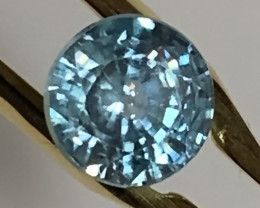 SPECIAL ORDER Beautiful Blue Zircon  Gem