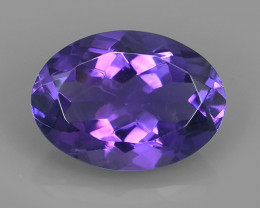 5.20 CTS NOBLE OVAL CUT PURPLE AMETHYST WONDERFUL