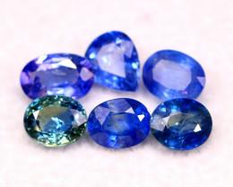 Unheated Sapphire 2.85Ct Natural Ceylon Unheated Blue Sapphire A3006