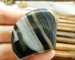 Natural Gemstone Botswana Agate Cabochon (G1667)