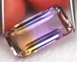 Ametrine 6.08Ct Natural Bolivian BI-Color Color Ametrine A2904