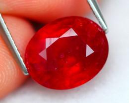 Ruby 5.63Ct Madagascar Blood Red Ruby B2903