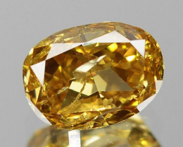 0.48 Untreated Fancy Orange Yellow Natural Loose Diamond