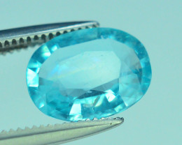 Great Luster 1.40 ct Apatite Mesmerizing Caribbean Color