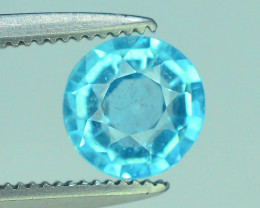 Great Luster 0.75 ct Apatite Mesmerizing Caribbean Color