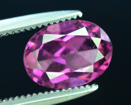 Rarest 1.70 ct Grape Garnet one of a Kind Fire