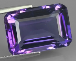 13.90 CTS INCREDIBLE PURPLE AMETHYST URUGUAY VVS