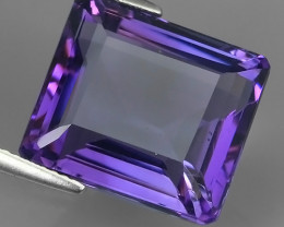 16.00 CTS MAGNIFICENT NATURAL PURPLE-VIOLET AMETHYST NICE OVAL~CUT