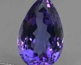 12.95 CTS MAGNIFICENT NATURAL PURPLE-VIOLET AMETHYST NICE OVAL~CUT