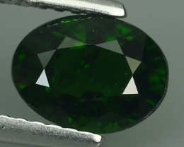1.60 CTS NATURAL ULTRA RARE CHROME GREEN DIOPSIDE RUSSIA