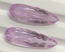 40.66 Carats Kunzite Gemstones