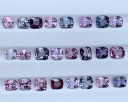 31.56 Carats Spinel Gemstones Parcels