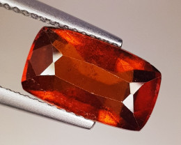4.70 ct Top Quality Gem Rectangle Cut Top Luster Hessonite Garnet