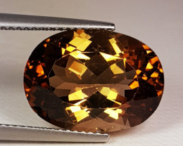 5.85 ct Top Quality Stunning Oval Cut Natural Champion Topaz