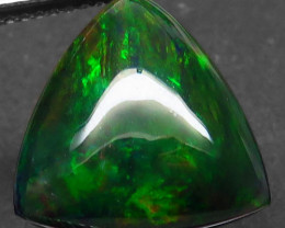 4.44 Ct. Natural Play of Color Rainbow Fire Hydrophane Opal – IGE Certific