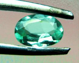 Natural 1.17 ct Zambian Emerald Certified Top Stone!