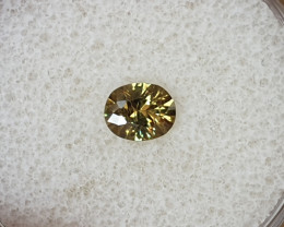 0,58ct Demantoid garnet