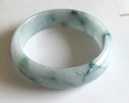 Natural  Jadeite Bangle from Myanmar