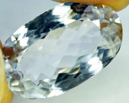 NR Auction 24.30 CT Natural Aqua Color Kunzite Gemstone