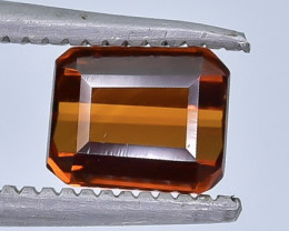 1.01 Crt Natural Spessartite Garnet Faceted Gemstone.( AB 17)