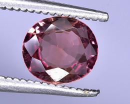 0.86 Crt Natural Tourmaline Faceted Gemstone.( AB 17)