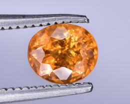 0.96 Crt Natural Spessartite Garnet Faceted Gemstone.( AB 17)