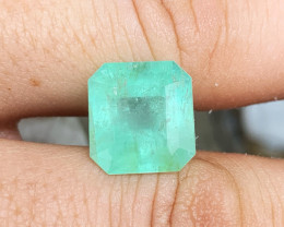 *NR* 11.35 ct Colombian Emerald 13.7 x 12.8 x 9.2